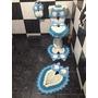 Jogo De Banheiro Coruja 5 Peças, Crochê Barbante,artesanato