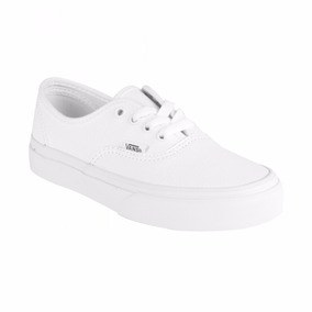 Tenis Vans Casuales Authentic Leather Piel Vn00018rl3h Blanc