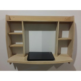 Mesa Para Laptops En Mdf 15mm En Crudo
