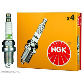 Jogo Vela Ngk Zkr8b10 Grand Siena Palio Uno 1.4 Fire Evo 12/
