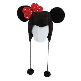 Disfraz Minnie Mouse Con Capucha Adulto Del Sombrero De Las
