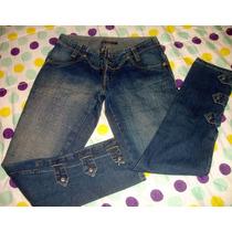 Calça Jeans Feminina Marca Osmoze N. 38 S/ Strech Lu