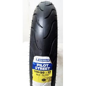 Llanta Michelin 110/80-17 57s Pilot Street (no Usa Cámara)