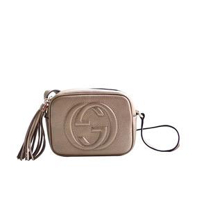 Bolsa Gucci Soho Corrente Cor Principal Dourado - Bolsa Gucci ... 471d9c060c
