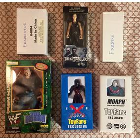 Toy Fare Figuras Exclusivas Big Show, Venom, Morph Y Otras