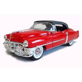 Cadillac Eldorado 1953 1:24 Welly Vermelho