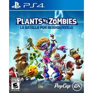 Plants Vs Zombies La Batalla De N. Ps4 Fisico