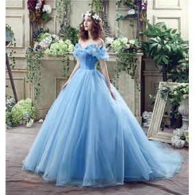 Vestido De 15 Años Vendo O Alquilo Cenicienta Azul