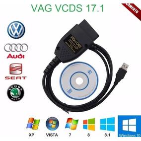 Scanner Cabo Vcds Vag 17.1 2017 Todos Audi Volkswagen Obd2