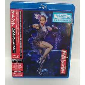 Blu Ray Madonna Rebel Heart Tour Japan Bônus Track .