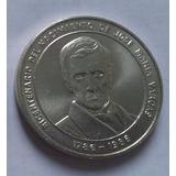 Moneda De Plata Bicentenario 1786 - 1986 Jose Maria Vargas