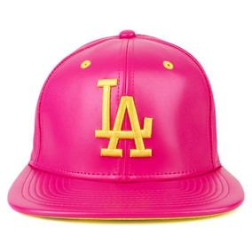 Bone New Era 9fifty Los Angeles Dodgers Osfa Strapback Rosa b5b6a41efbc
