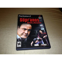 The Sopranos Road To Respect (sony Playstation 2, 2006)p/col