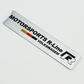 Emblema Vw Alemanha - Motorsport R-line Vw !!!