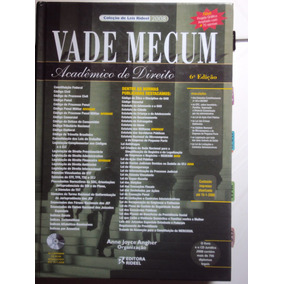 Vade Mecum Acadêmico De Direito 2008 (sebo Amigo)