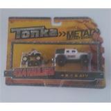 Camionetas Con Remolque Metal - Tonka