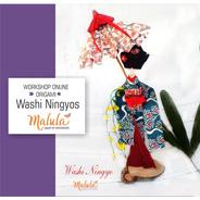 Taller Online Ningyo Doll + Paraguas Movíl Origami