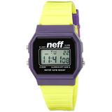 Neff Mens Nf0204prlm Flava Digital Display Watch