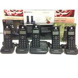 Telefone S/fio Motorola + 3 Ramais Com Id Chamadas Dect 6.0