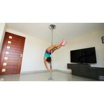 Tubo Para Pole Dance Portatil Giratorio Y Fijo Fitness Sexy