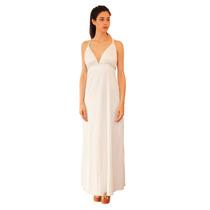 Vestido Jaz Largo De Fiesta, Gasa Con Brillo, Brishka V-0041