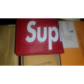 Billetera - Cartera Louis Vuitton / Supreme Modelo Exclusivo