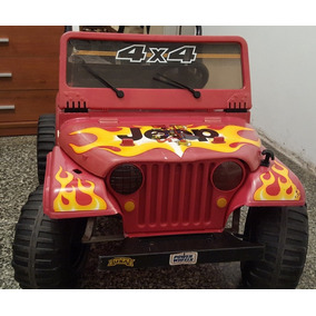 Jeep 4x4 Power Whells By Fisher Price A Bateria - 3 Marchas