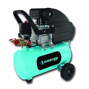 Compresor Energy 24l Con Aceite / Baja Presión