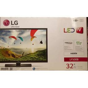 Tv Televisor Lg Led 32 Pulgadas Mod. Lf500b 3 Puertos Hdmi
