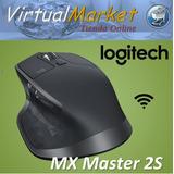 Mouse Wireless Logitech Mx Master 2s Multidispositivo