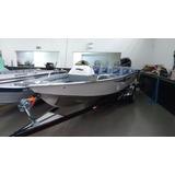 Barco Alumínio Rionáutica Ñ Levefort Metalglass