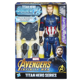 Power Pack Capitán América 12 Pulgadas Avengers Marvel