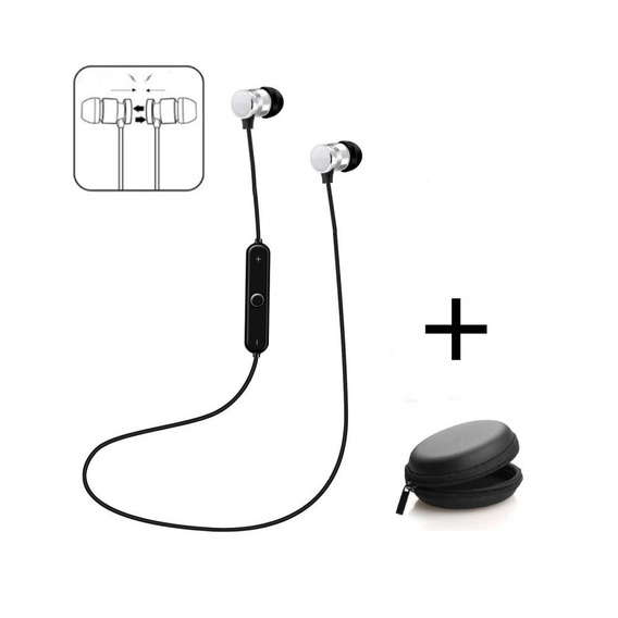 Auriculares Bluetooth In Ear Manos Libres Microfono Magnetic