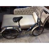- Linda Bicicleta Antiga Caloi Dobrável Guidão V - 70´s