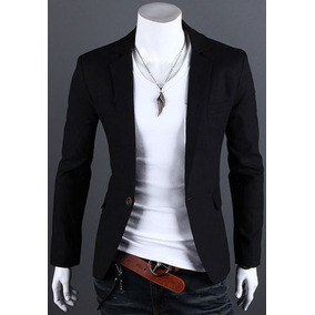 Saco Blazer Hombre Elegante Traje Slim Fit Fiesta Moda Clase