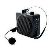 Megafono De Cintura Recargable C/ Microfono Y Altavoz Usb Sd