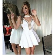 Vestido Com Pérolas Sereia Moda Instagram Queima De Estoque