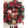 Guirlanda De Natal Vermelha 40cm Importada Luxuosa Enfeite
