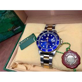 Rolex Submariner Acero Oro Azul Precioso Nuevecito