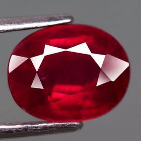 Rubi Oval Rojo Sangre 2.71 Quilates