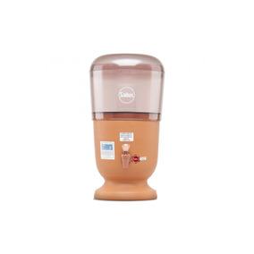 Filtro De Barro E Acrilico P/ Água 8 Litros 1 Vela (com Pra