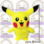 Pikachu Peluche 42 Cm Realizacion Propia