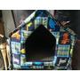 Casa Para Gato O Perro, En Espuma, Desarmable. Poco Uso