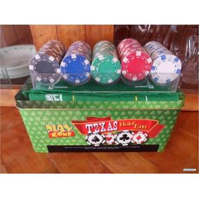 Juego Poker Play Zone 200 Fichas, 2 Mazos. Envío Gratis