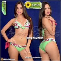 Traje Baño Damas Ultima Moda 2017 Bikinis Altos Mayor Hilo