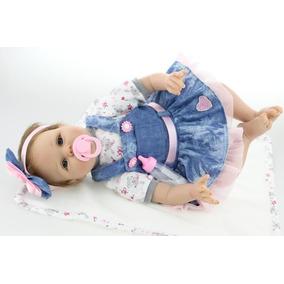 Boneca Reborn Linda Menina Princesa 5