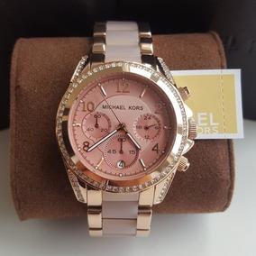 ab9cb08348d1a Mk 5873 De Luxo Feminino Michael Kors - Relógio Michael Kors no ...