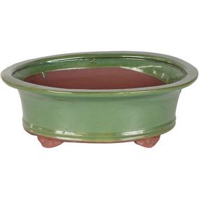 Vaso Bonsai 30x23,5x10,5cm Oval Importado