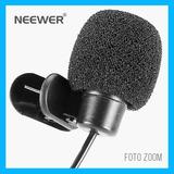 Microfono Lavalier Neewer Clip Solapa Pop Camara 3.5 Mm