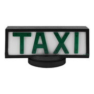 Luminoso Para Teto De Taxi Retangular Com Base De Íman